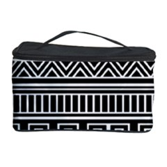 Myria Wrapping Paper Black Cosmetic Storage Case