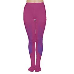 Purple Blue Women s Tights