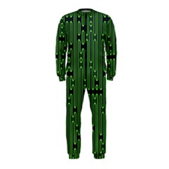 Pipes Green Light Circle OnePiece Jumpsuit (Kids)