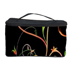 Flowers Neon Color Cosmetic Storage Case