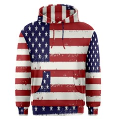 Flag United States United States Of America Stripes Red White Men s Pullover Hoodie