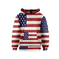 Flag United States United States Of America Stripes Red White Kids  Pullover Hoodie