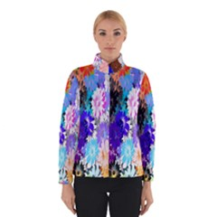 Flowers Colorful Drawing Oil Winterwear