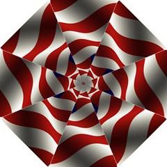 Flag United States Stars Stripes Symbol Hook Handle Umbrellas (Small)