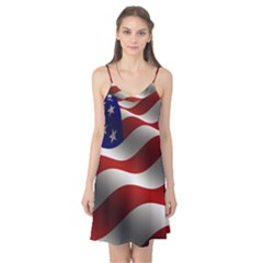 Flag United States Stars Stripes Symbol Camis Nightgown