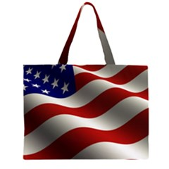 Flag United States Stars Stripes Symbol Large Tote Bag