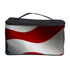 Flag United States Stars Stripes Symbol Cosmetic Storage Case
