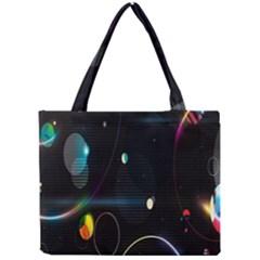 Glare Light Luster Circles Shapes Mini Tote Bag