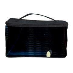 Glare Light Luster Circles Shapes Cosmetic Storage Case