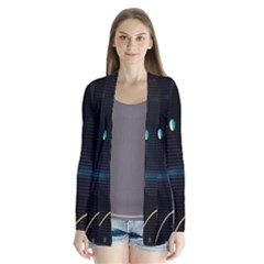 Glare Light Luster Circles Shapes Cardigans