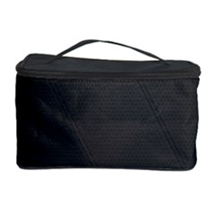Leather Stitching Thread Perforation Perforated Leather Texture Cosmetic Storage Case