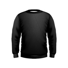 Leather Stitching Thread Perforation Perforated Leather Texture Kids  Sweatshirt
