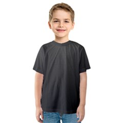 Leather Stitching Thread Perforation Perforated Leather Texture Kids  Sport Mesh Tee