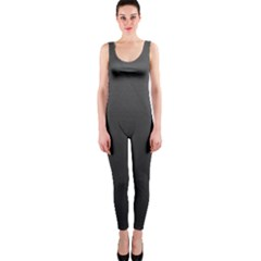 Leather Stitching Thread Perforation Perforated Leather Texture OnePiece Catsuit