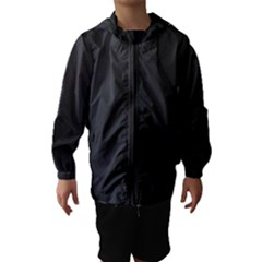 Leather Stitching Thread Perforation Perforated Leather Texture Hooded Wind Breaker (Kids)