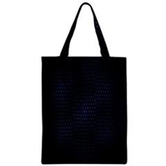 Hexagonal White Dark Mesh Classic Tote Bag