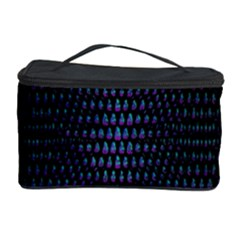 Hexagonal White Dark Mesh Cosmetic Storage Case