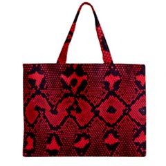 Leather Point Surface Mini Tote Bag