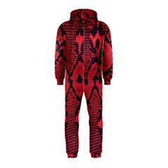 Leather Point Surface Hooded Jumpsuit (Kids)