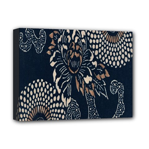 Patterns Dark Shape Surface Deluxe Canvas 16  x 12