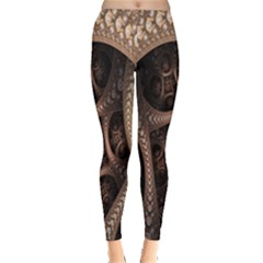Patterns Dive Background Leggings