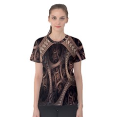 Patterns Dive Background Women s Cotton Tee