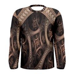 Patterns Dive Background Men s Long Sleeve Tee