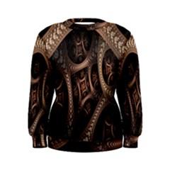Patterns Dive Background Women s Sweatshirt