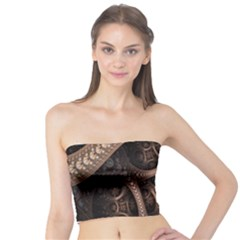 Patterns Dive Background Tube Top