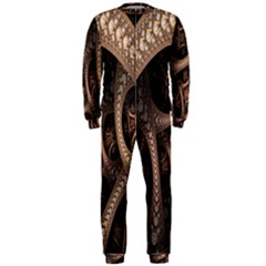 Patterns Dive Background Onepiece Jumpsuit (men)