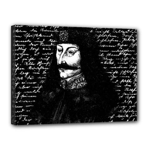 Count Vlad Dracula Canvas 16  x 12