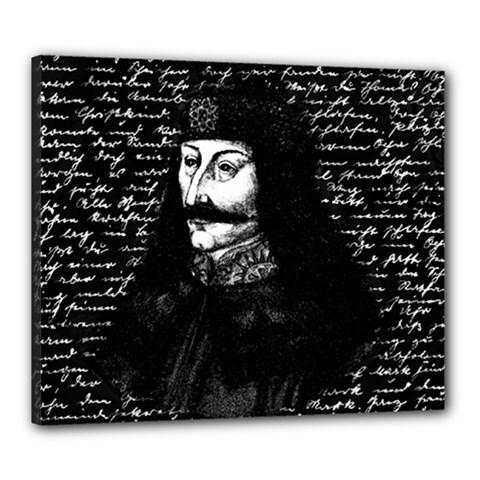 Count Vlad Dracula Canvas 24  x 20