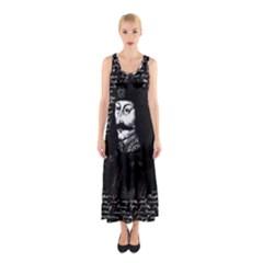 Count Vlad Dracula Sleeveless Maxi Dress