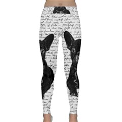 Cute bulldog Classic Yoga Leggings