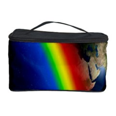 Rainbow Earth Outer Space Fantasy Carmen Image Cosmetic Storage Case