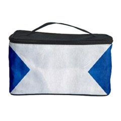 Scotland Flag Surface Texture Color Symbolism Cosmetic Storage Case