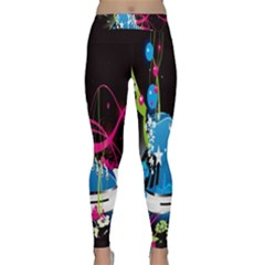Sneakers Shoes Patterns Bright Classic Yoga Leggings