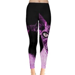 Pink Sphynx cat Leggings