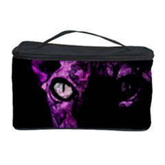 Pink Sphynx cat Cosmetic Storage Case