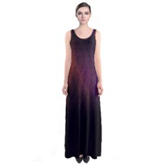Point Light Luster Surface Sleeveless Maxi Dress