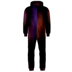Point Light Luster Surface Hooded Jumpsuit (Men)