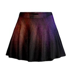 Point Light Luster Surface Mini Flare Skirt