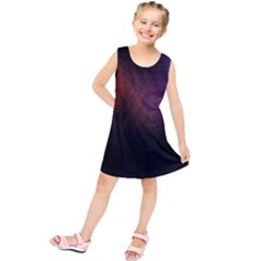 Point Light Luster Surface Kids  Tunic Dress
