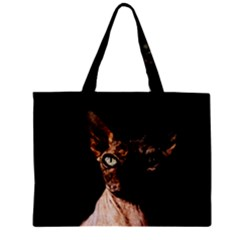 Sphynx cat Zipper Mini Tote Bag