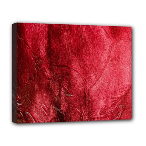 Red Background Texture Deluxe Canvas 20  x 16