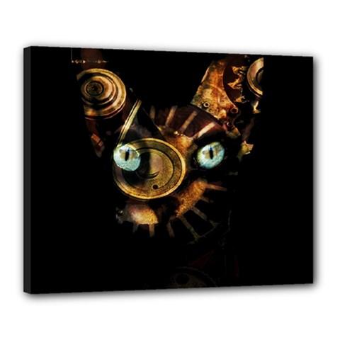 Sphynx cat Canvas 20  x 16