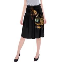 Sphynx cat Midi Beach Skirt