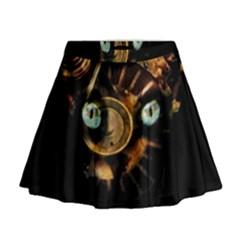 Sphynx cat Mini Flare Skirt