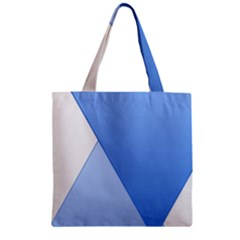Stripes Lines Texture Zipper Grocery Tote Bag