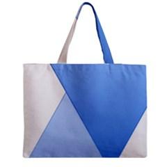 Stripes Lines Texture Medium Zipper Tote Bag